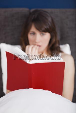reading a terror story