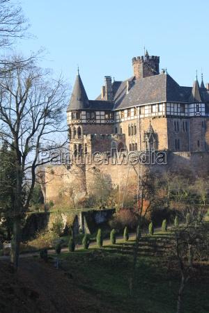 berlepsch castle near witzenhausen