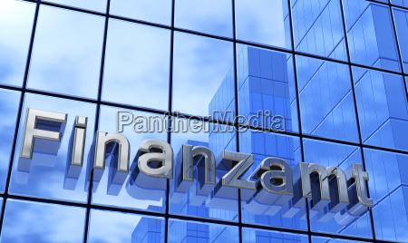 blue facade financial office 1