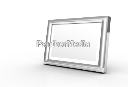 picture frame made of chrome