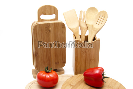 cutting board with paprika