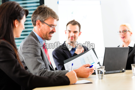 business meeting of businessmen
