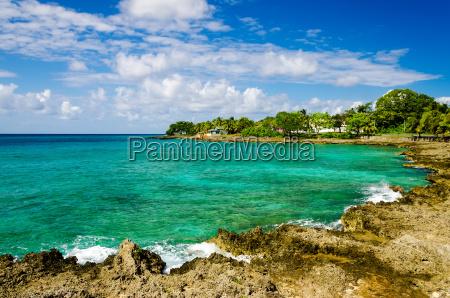 idyllic turquoise bay