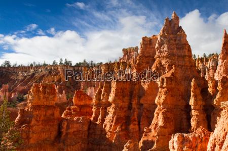 rock formation of queens stone garden
