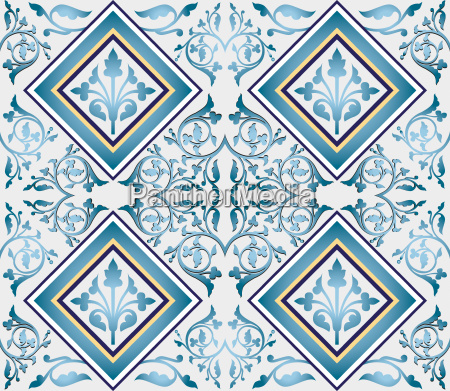 ottoman seamless pattern design