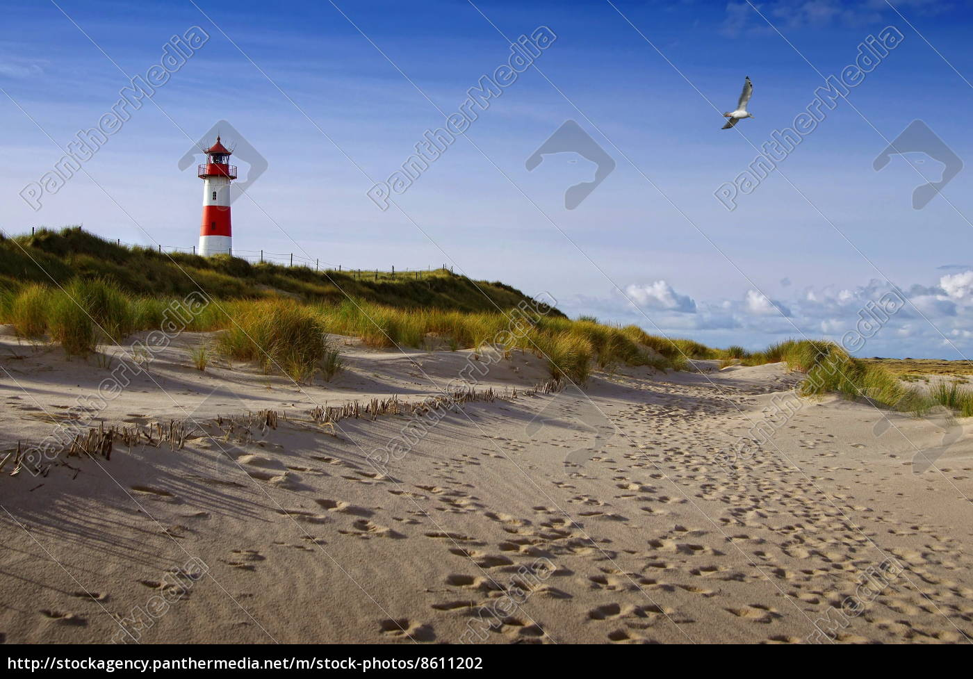 scenics, with, lighthouse, on, sylt - 8611202