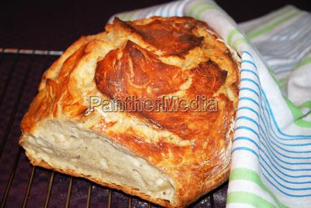 newly homemade bread