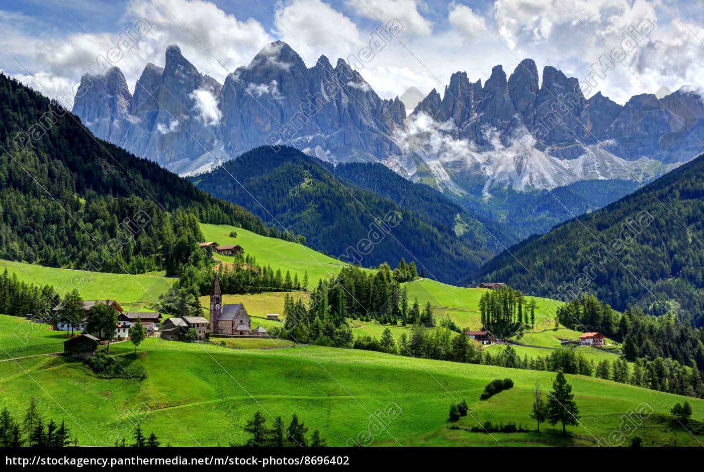 mountains, dolomites, alps, south tyrol, high mountains, alpine scenery - 8696402
