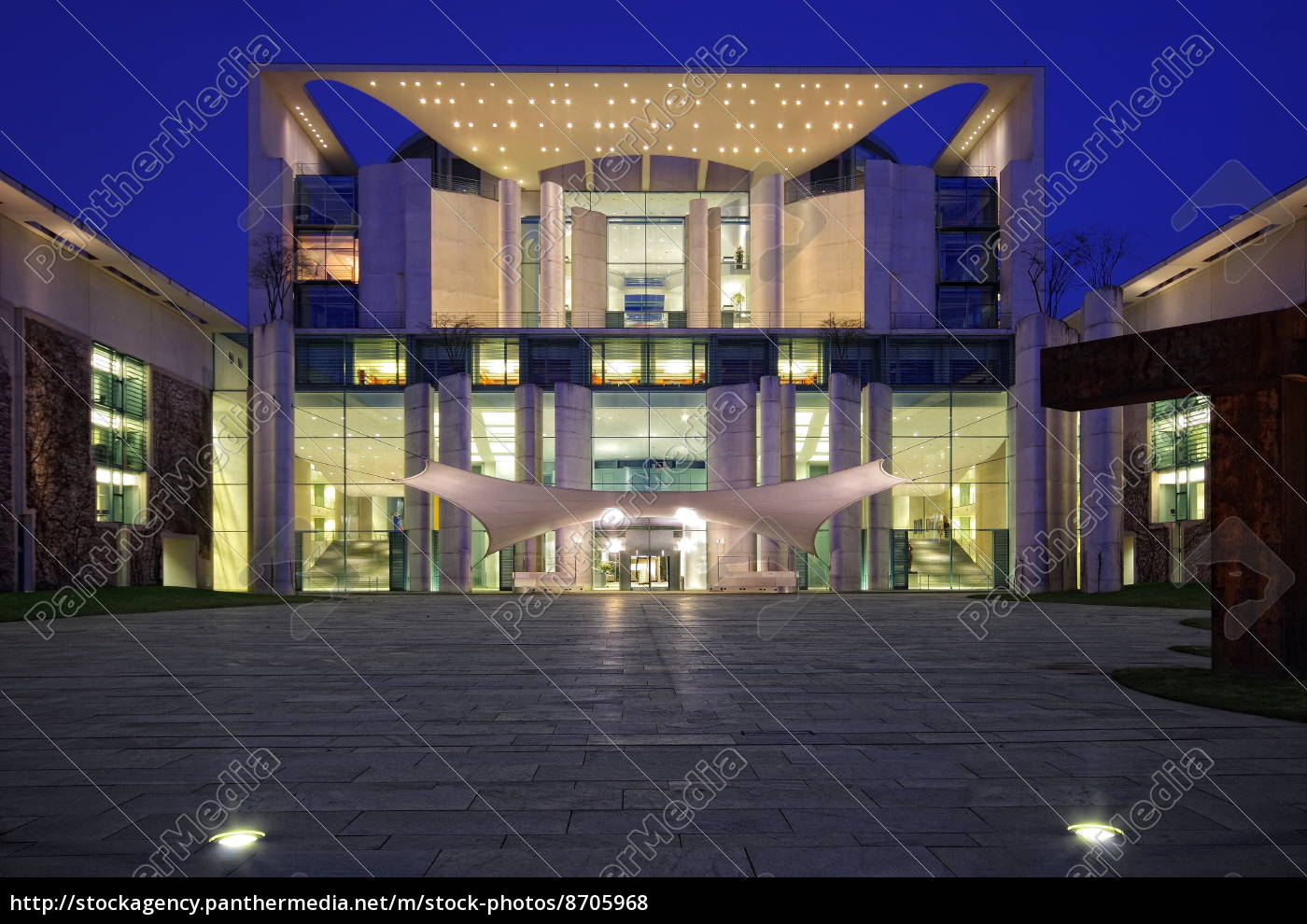 chancellery, at, the, blue, hour - 8705968