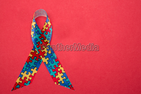 ribbon for autism and aspergers awareness