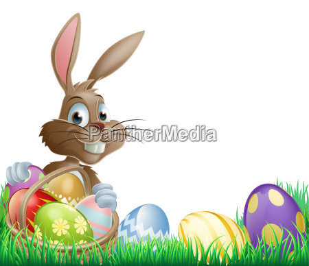 isolated, easter, footer, design - 8721722