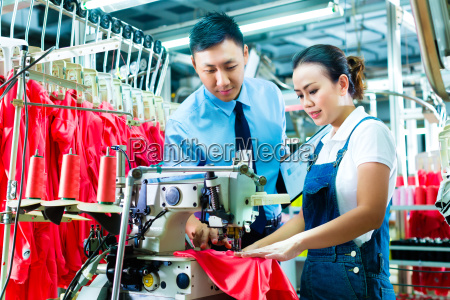 seamstress in a factory will be