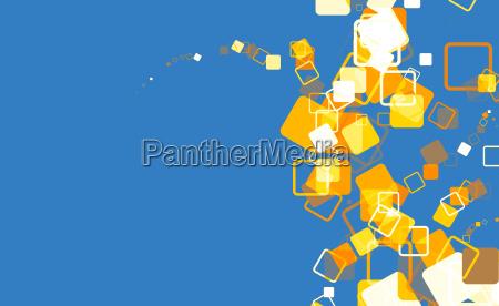 cube matrix blue orange white 01