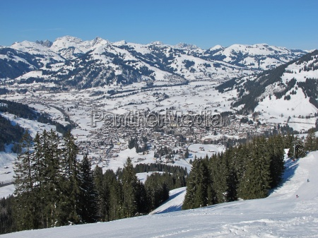 gstaad famous village in the bernese