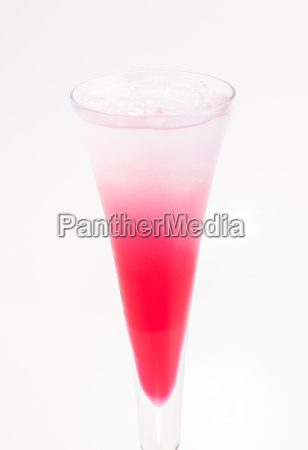 red sip cocktail made from strawberry