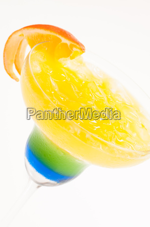 summer dream cocktail made from cachaca