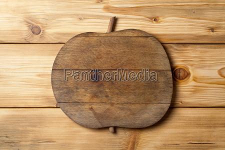 wooden apple