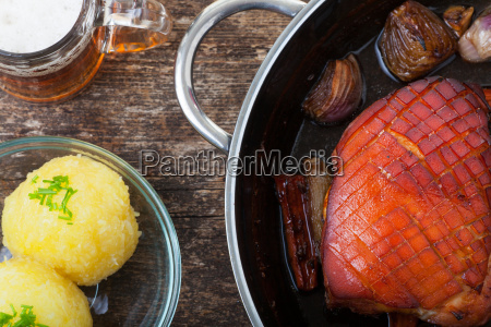 roast pork from above
