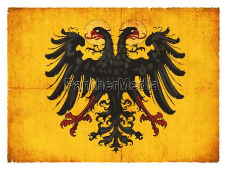 grunge flag holy roman empire of
