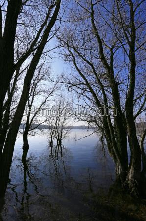 nature sanctuary artificial lake dam water