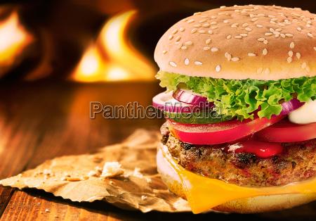 whopper cheese burger