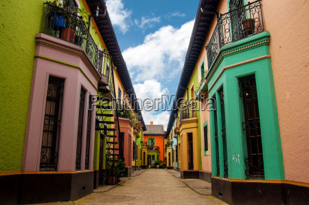historic colorful buildings