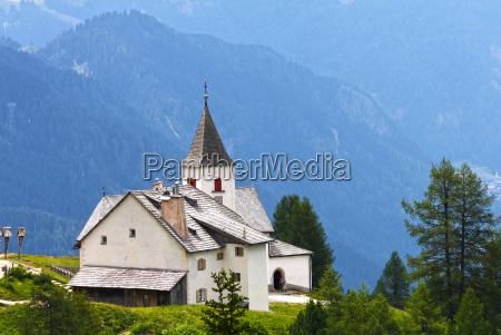 church, tree, trees, chapel, summer, summerly - 8905192