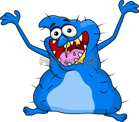 ugly monster cartoon