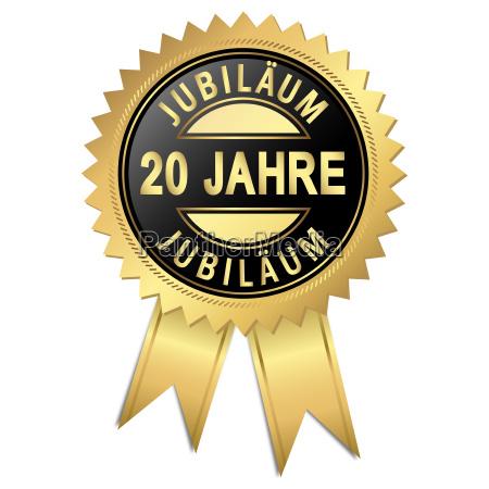 jubilee 20 years