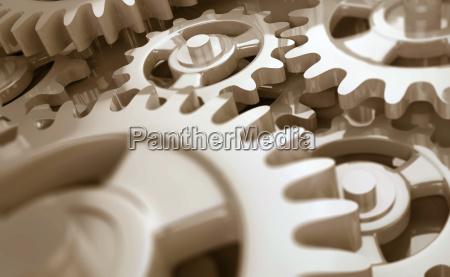 clockwork detail sepia