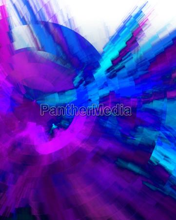 modern art background blue violet