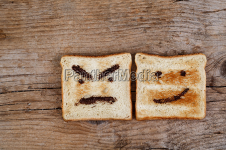 feelings on toast