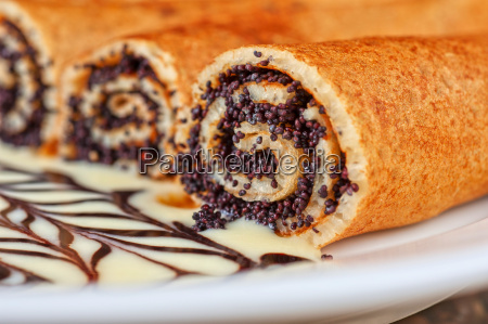 pancakes, with, poppy, seeds - 8959180