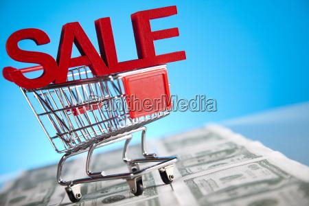 supermarket shopping cart