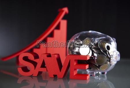 save and pig bank