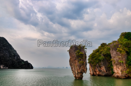 james bond island ocean view with