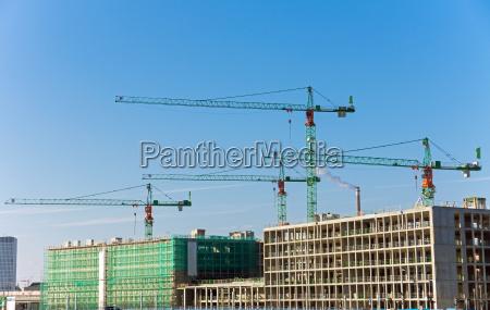 major construction site in berlin