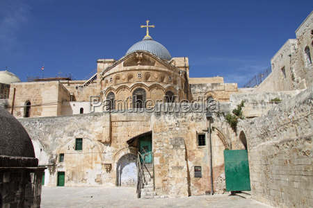holy sepulcher in jerusalem israel