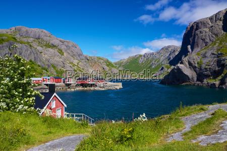 fishing village nusfjord