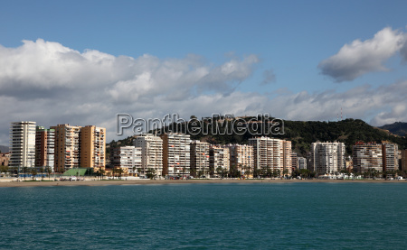 residential district of malaga la