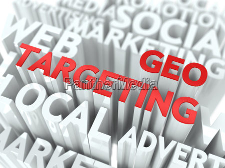geo targeting concept