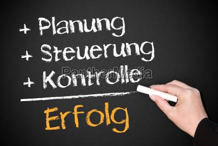 success planning control control