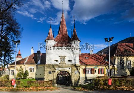 brasov fortress catherine gate romania