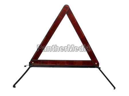 highway safety triangle clipping path