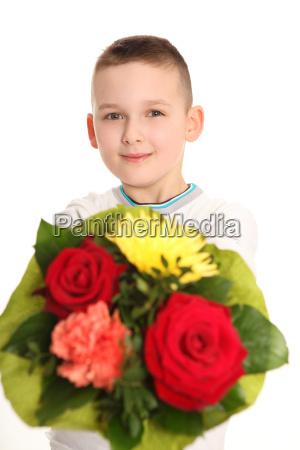 look in the flowers