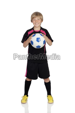 ready for playing soccer