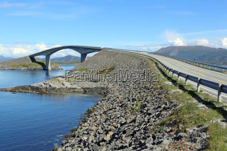 atlanterhavsvegen atlantic road in norway