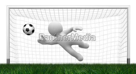 3d goalkeeper