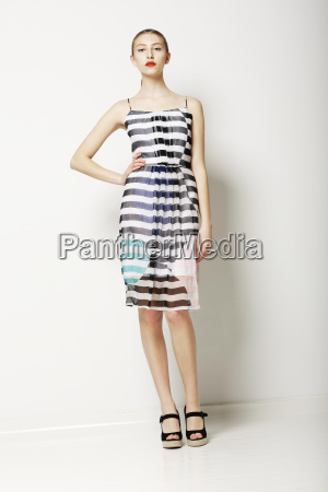 contemporary clothes collection woman in spring