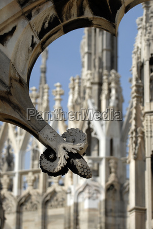 details on milan cathedral